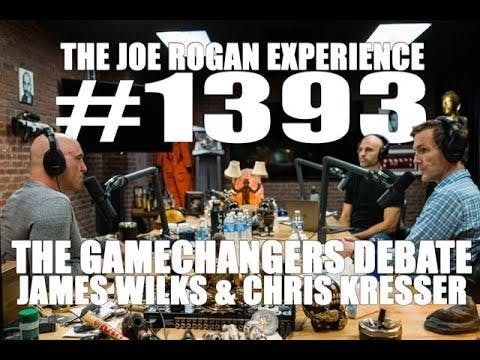 chris kresser joe rogan game changers james wilks