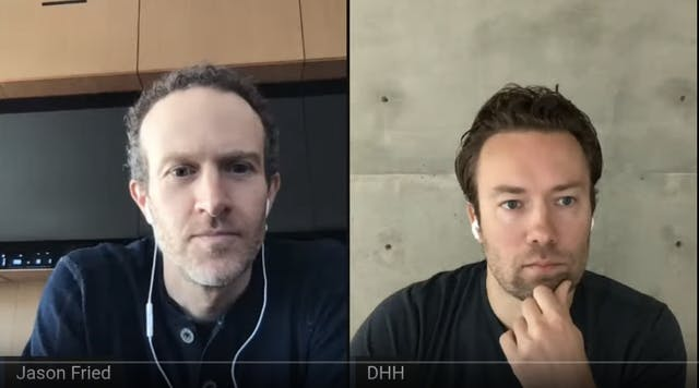 Jason Fried and David Heinemeier Hansson