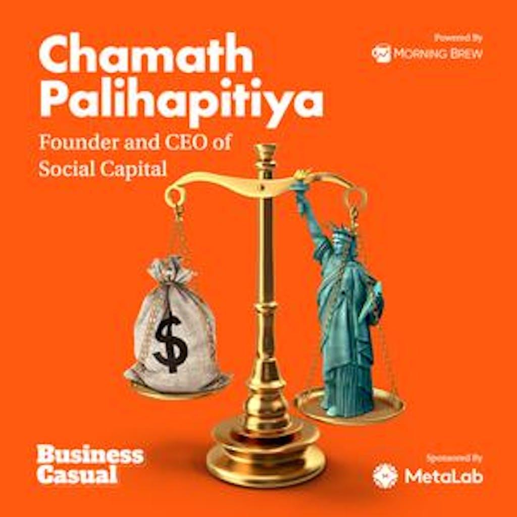 Chamath Palihapitiya Business Casual