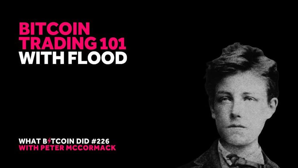 Flood Peter McCormack Bitcoin Trading