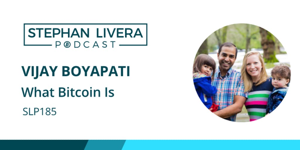 Vijay Boyapati Bitcoin
