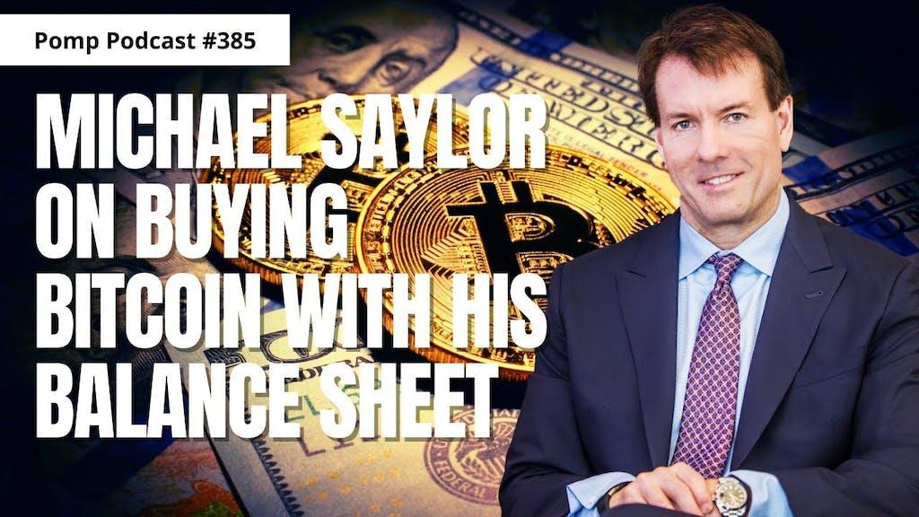 Michael Saylor Anthony Pompliano Bitcoin