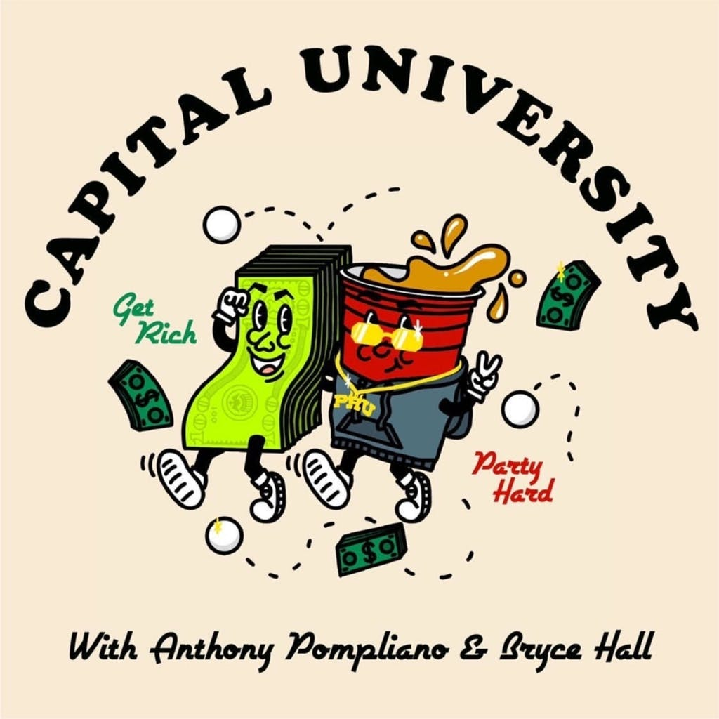 Bryce and Pomp with Ed Mylett on Capital University Podcast